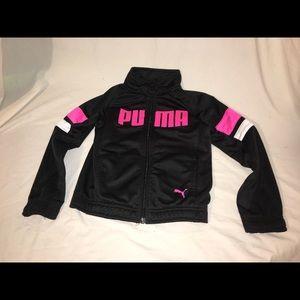 Puma girls size 6 jacket